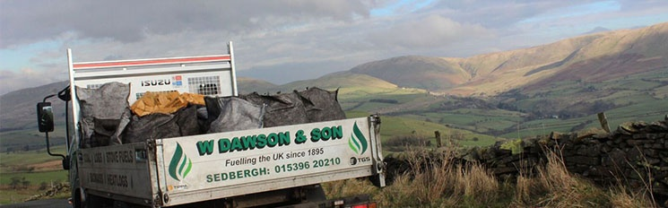 Local Delivery Service anywhere within a 30-mile radius of Sedbergh.