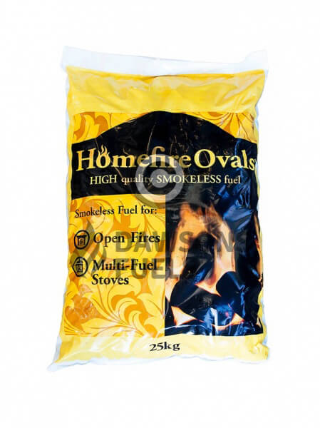 20 x 25kg Pre-packed Homefire Ovals
