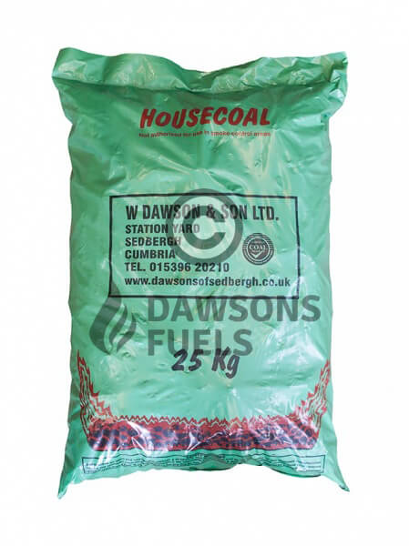 40 x 25kg Pre-packed British Housecoal Doubles