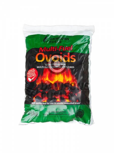 20 x 25kg Pre-packed Multi-Fuel Ovoids