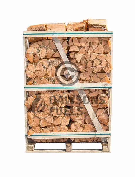 Pallet Of Netted Kiln Dried Ash Logs