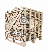 Large sized crate of kiln dried Ash logs