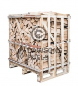 Medium sized crate of kiln dried Ash logs