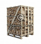Extra Large sized crate of kiln dried Ash logs