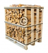 Medium Crate of kiln dried Alder logs