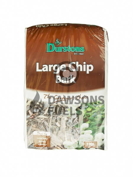 35 x 100 litre bags of Durstons Decorative Woodland Bark