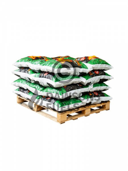 20 x 25kg Pre-packed Premium Colombian Housecoal Doubles
